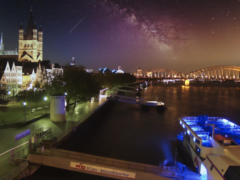 Köln bei Nacht, FotoMiru.de