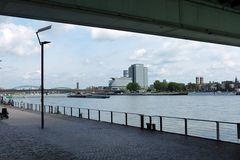 Köln - Blick von der Serverinsbrücke auf Köln-Deutz