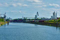 Köln-Deutz - am Industriehafen
