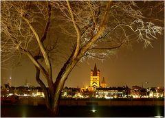 Köln - Die Altstadt / Blick vom rechten Rheinufer