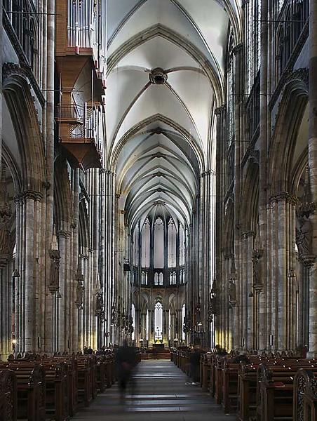 Köln: Dom - Mittelschiff
