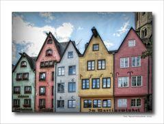 Köln ..... Häuser am Fischmarkt .....