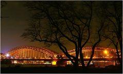 Köln - Hohenzollernbrücke mal ohne Dom