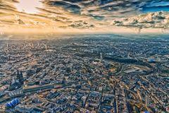 Köln in der Abendsonne