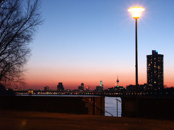 Köln in rot