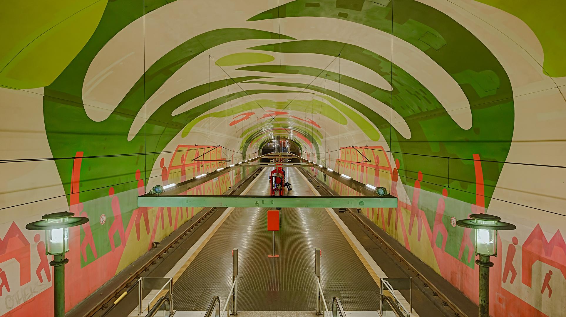 Köln, Linie U4, Station 'Leyendeckerstraße'