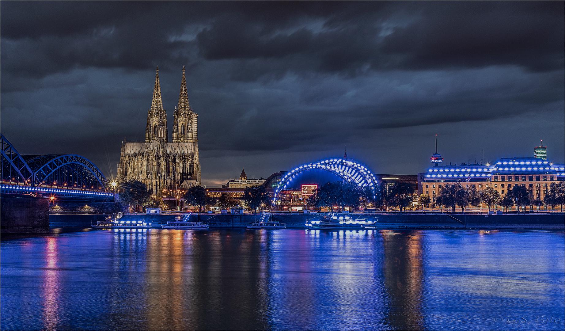 Köln macht blau.....