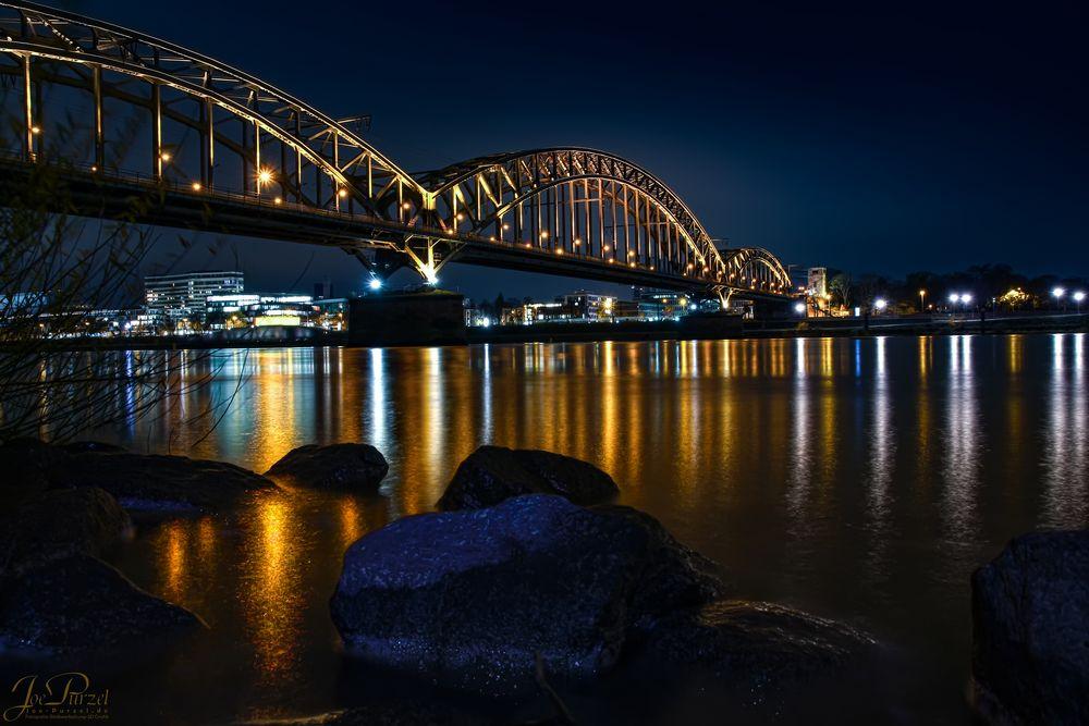 Köln Poll - Südbrücke - Kranhäuser - Dom