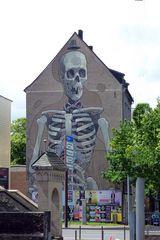 Köln - Rheinufer an den Kranhäusern -