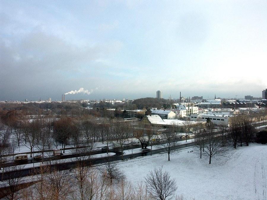 Köln-Süd - Wintereinbruch in Köln