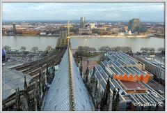Köln - über den Dächern der Stadt - 2