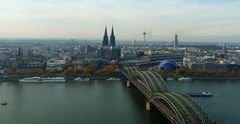 Köln von Deutz geseh'n ...