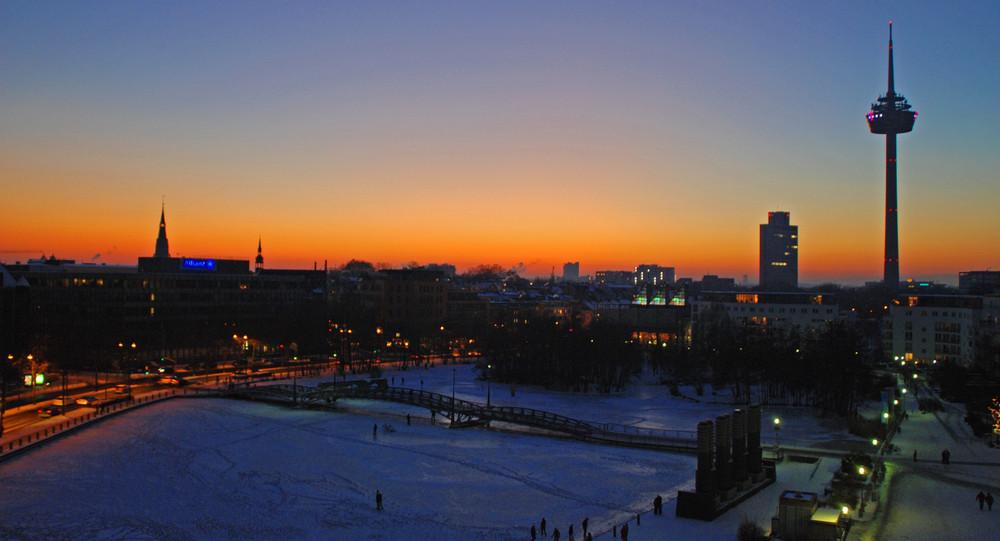 Köln winterlich