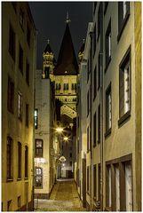 Kölner Altstadt mit Groß Sankt Martin
