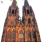 Kölner Dom am späten Nachmittag