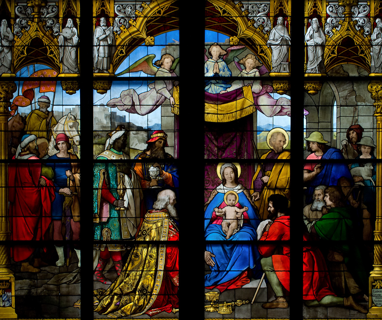 Kölner Dom - Anbetungsfenster