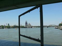 Kölner Dom - Auch von mir mal ein Foto mit Rahmen