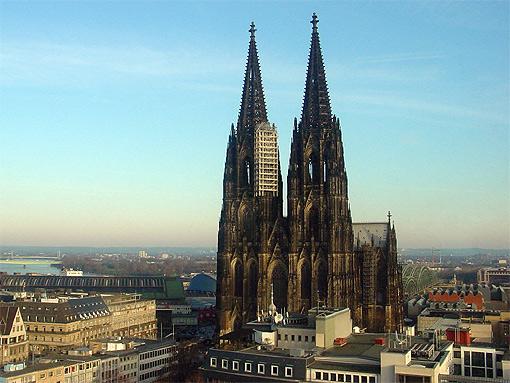 Kölner Dom auf einem Bild