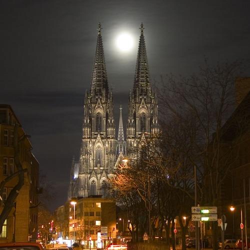 Kölner Dom bei Nacht die 2te
