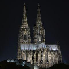 Kölner Dom im Quadrat