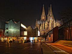 Kölner Dom und das Museum Ludwig