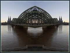 Kölner Dom und Hohenzollernbrücke - oder was ..... ?