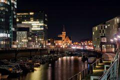 Kölner Hafenansicht (Rheinauhafen)