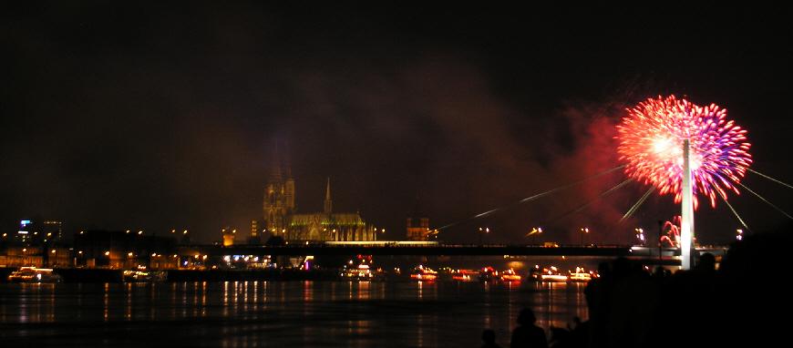 Kölner Lichter (3)