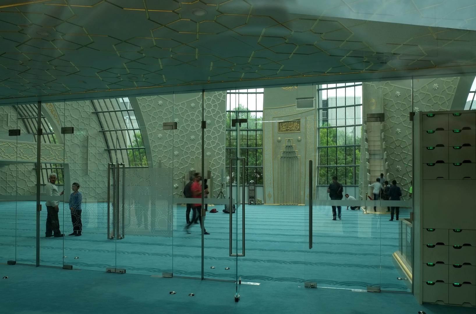 Kölner Moschee - Einblick