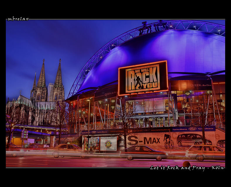 Kölner Musical Dome - We will Rock you