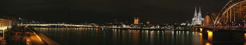 Kölner Nachtpanorama