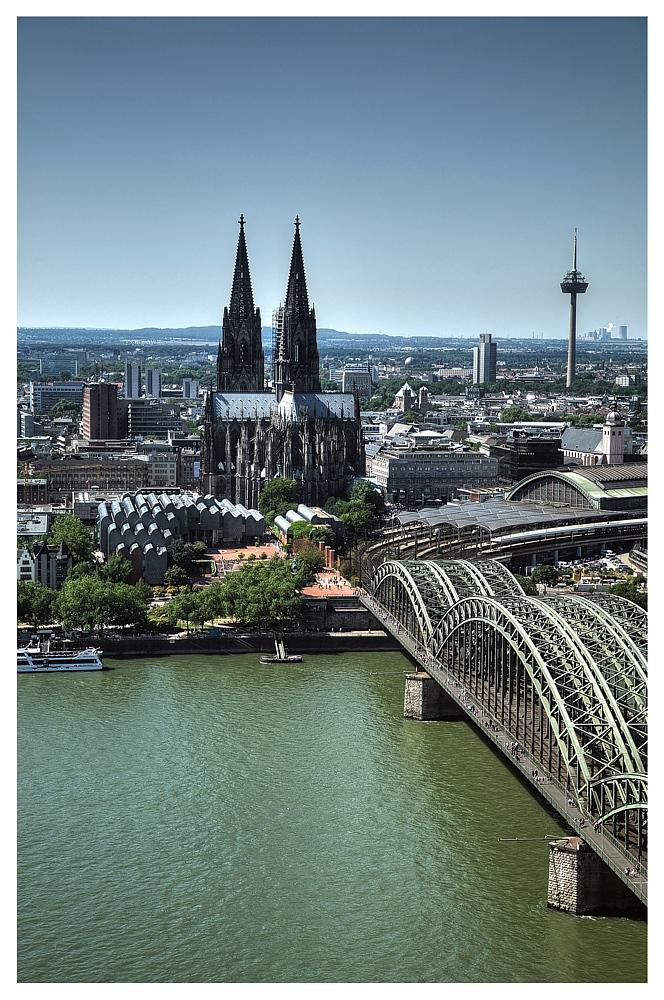k lner skyline foto bild deutschland europe nordrhein westfalen bilder auf fotocommunity. Black Bedroom Furniture Sets. Home Design Ideas