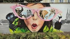 Kölner Zoo Graffitimauer II