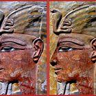 König Sethos I um 1290 v. Chr. Neues Museum Berlin