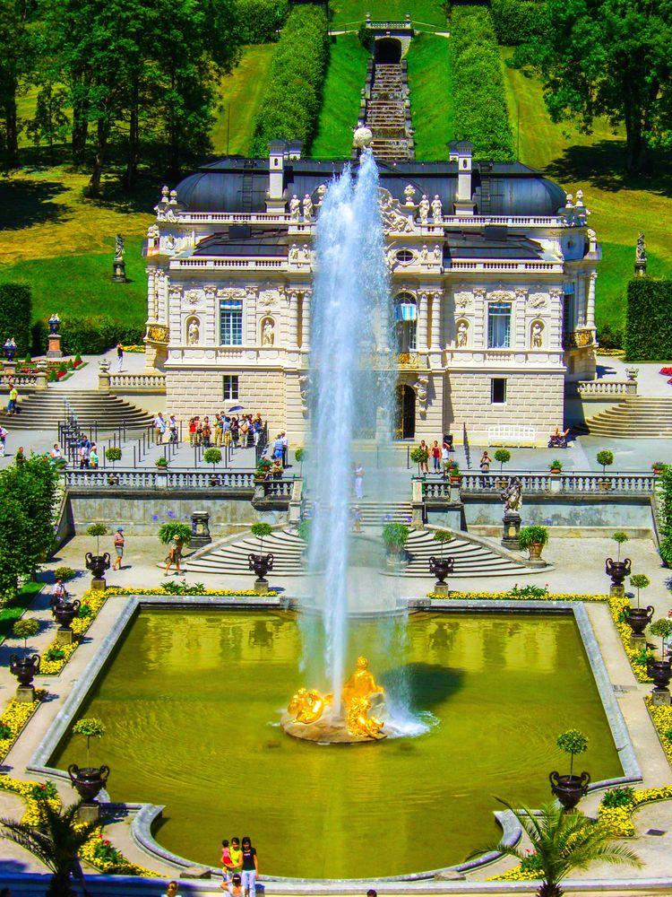 Königliche Villa - Schloss Linderhof