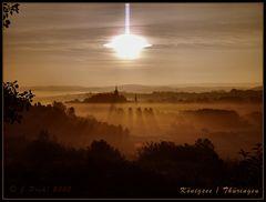 Königsee im Morgennebel