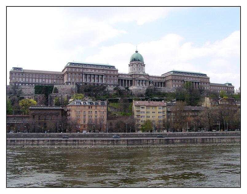 Königspalast in Budapest