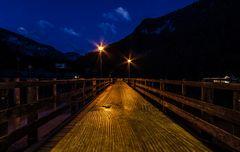 Königssee - Abends am Steg