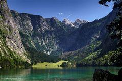 Königssee - Blick zu den Teufelshörnern