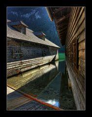 Königssee Bootshäuser