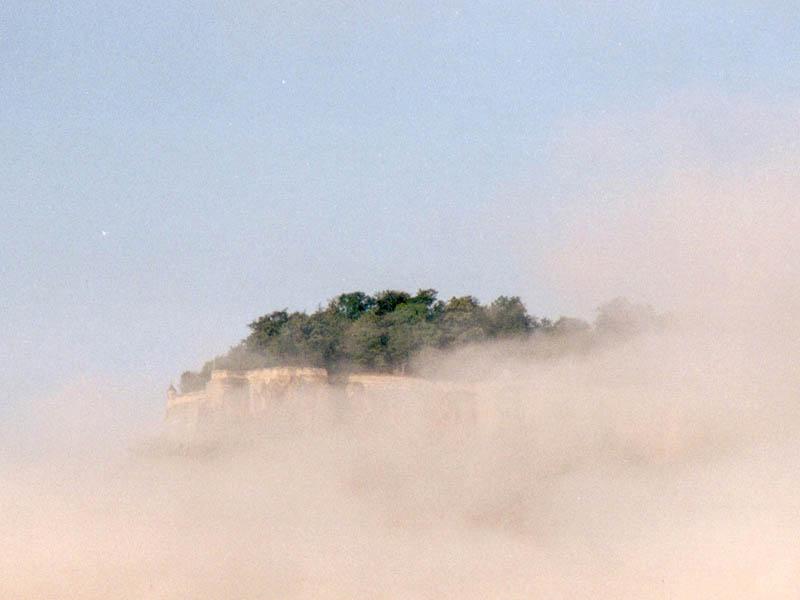 Königstein am Morgen