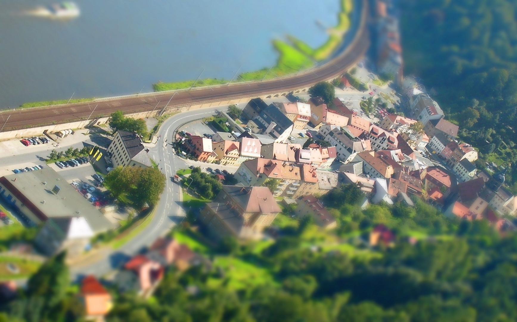 Königstein - Sachsen in H0
