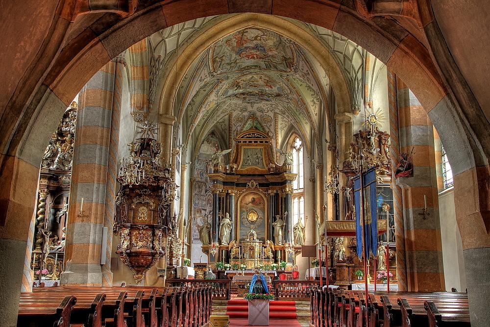Kötschach-Mauthen Pfarrkirche Foto & Bild | architektur, sakralbauten,  innenansichten kirchen Bilder auf fotocommunity