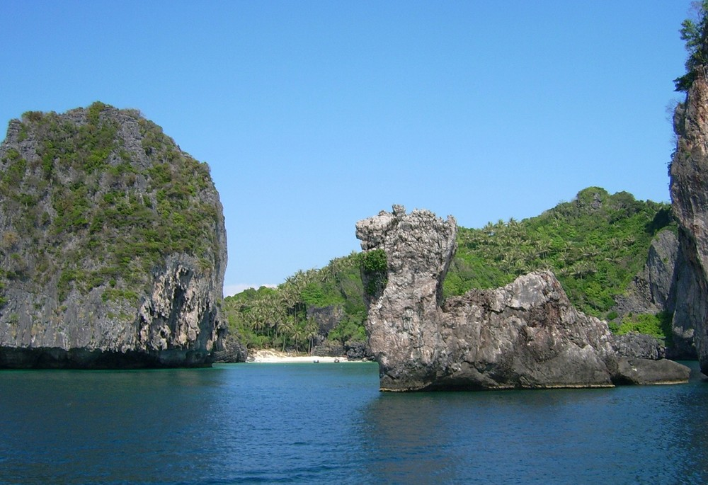 Koh Phi Phi - Felsenformation