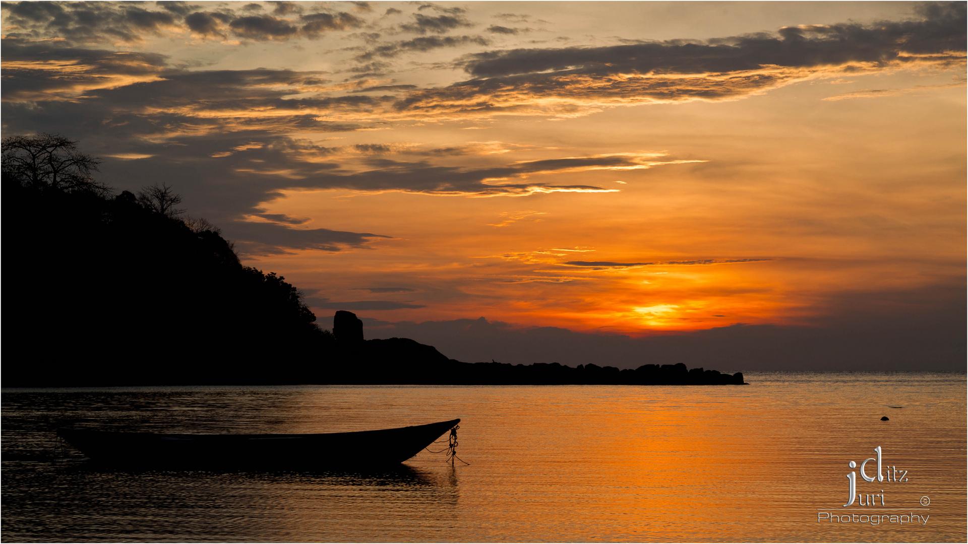 Koh Samui - Choeng Mon Beach - Sunset