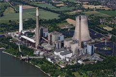 Kohle Kraftwerk Voerde