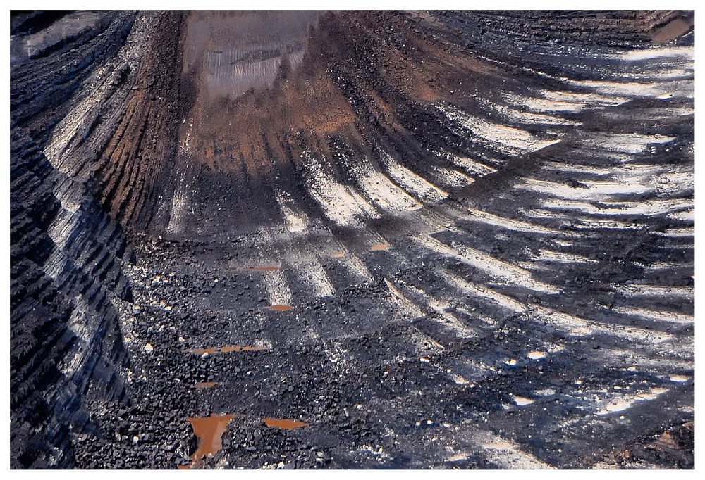Kohle - Schürfwunden