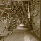 Kohlebunker in Brikettfabrik