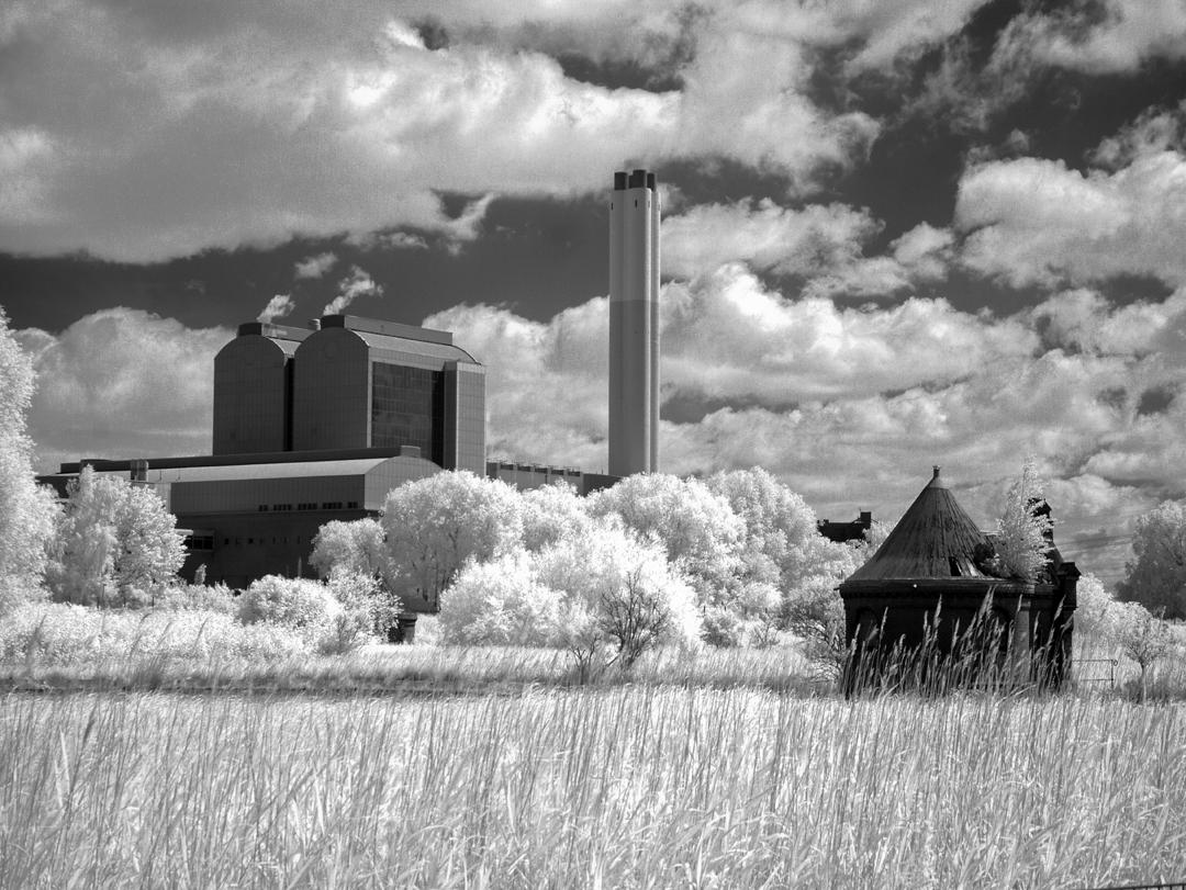Kohlekraftwerk Tiefstack in Hamburg.
