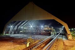 Kohlenmischhalle Bergwerk Auguste Victoria